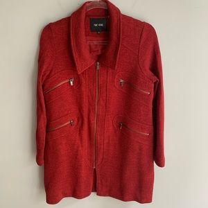 Nic + Zoe Modern Duster Better Sweater Jacket